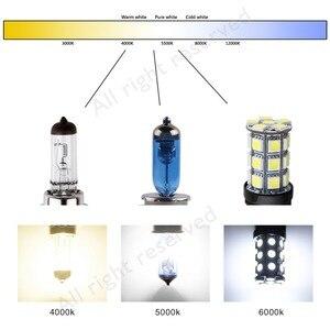 Image 5 - S & D H4 H7 Фары Галогенные лампы H3 H1 H11 9005 HB3 9006 HB4 9007 9004 12 В 55 Вт 100 Вт 5000k супер яркие противотуманные фары Автомобильная фара