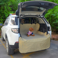 Dog Car Trunk Mat Hammock Boot Pet Seat Cover Barrier Protect Floor from Spills Scratches Non slip Waterproof Foldable Carpet