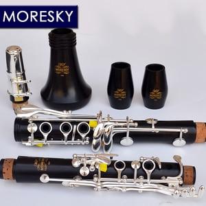 Image 3 - MORESKY Clarinet Falling Tune B Clarinet Wood ebony clarinet Tube 17 Keys Clarinet M6