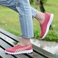 Marca Respirável Air Mesh Sapatas Das Mulheres sapatos de Caminhada das Mulheres Sapato Feminino Tenis Zapatillas Deportivas Mujer Mulheres Sapatos Casuais Verão