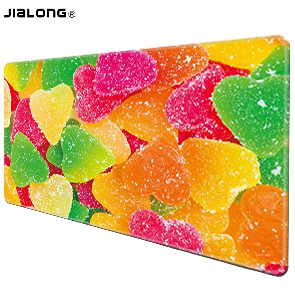 JIALONG 90x40cm Large Custom DIY Mouse Pad Mice Gamer Keyboard Mat XL Table Protector Soft Gaming Mousepad For Tablet PC Latop