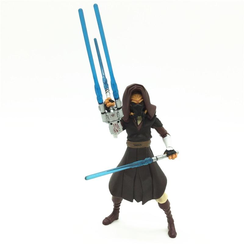 3.75'' Figures anime version Star War Jedi Plo Koon one piece figures model doll  Free shipping S011 1