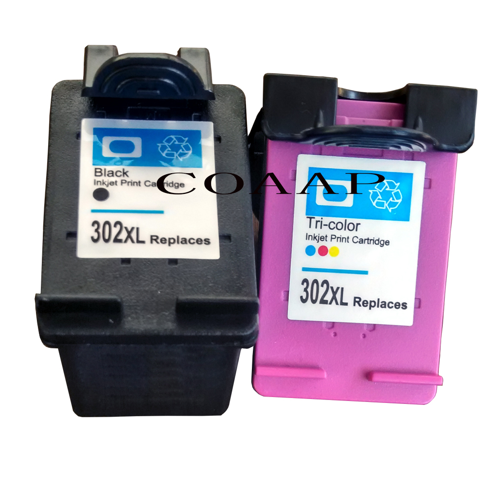 2pack printer cartridges for Compatible HP302XL Envy e-All-in-One 4520 4521 4522 4524 4525 4527 4528 Series2pack printer cartridges for Compatible HP302XL Envy e-All-in-One 4520 4521 4522 4524 4525 4527 4528 Series