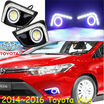 2014~2016 Vios fog light,Free ship!Vios headlight,camry,Hiace,tundra,sienna,yaris;Vios day lamp