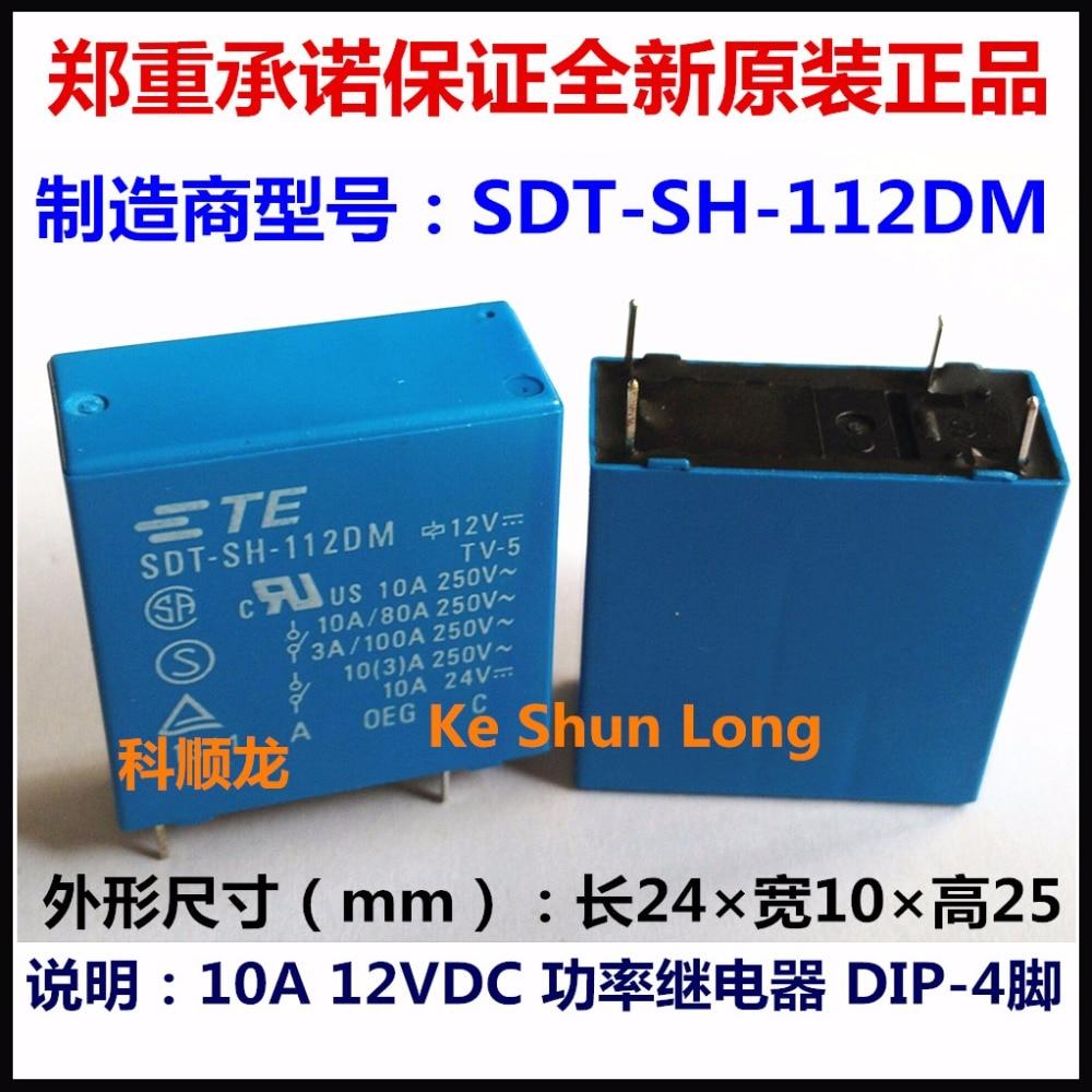 medium resolution of 100 original new te tyco oeg sdt sh 112dm sdt ss 112dm sdt sh 124dm sdt ss 124dm 4pins 10a 12vdc 24vdc power relay