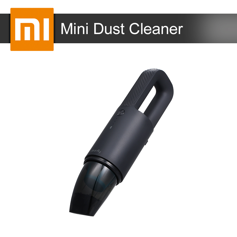 Xiaomi Cleanfly Car Dust Cleaner Wireless Portable Vacuum Hand Helded Mini Dust Catcher Collector Fast Charge