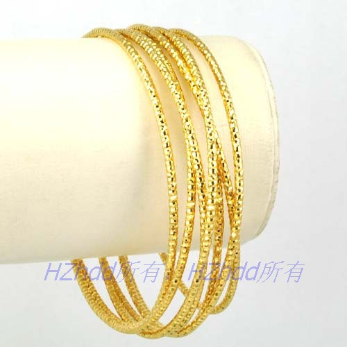 gold finish p arte satin doro twist yellow oro bracelet s d bangle bangles grams small