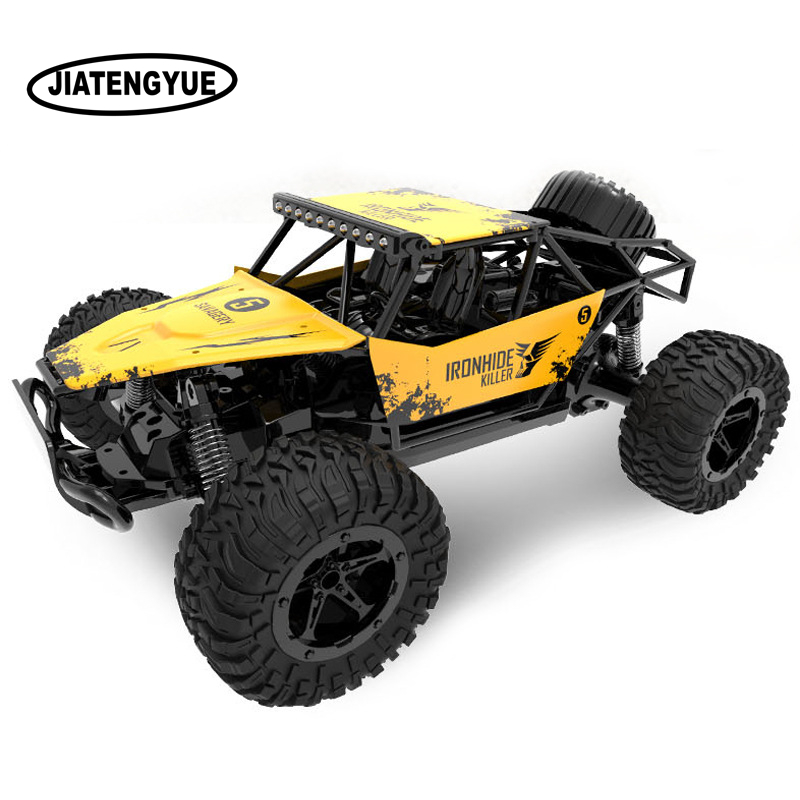 1:16 Rc Car 2.4ghz Bigfoot Rock Climbing Rc Cars High Speed Remote Control Toys Off-road Vehicle For Boy Remote Control Truck