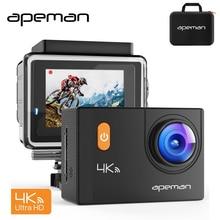Apeman 4 К Wi-Fi Pro велосипед шлем Действие Cam видеокамера профессионального водонепроницаемый подводный Спорт видеокамера с Новатэк NTK96660