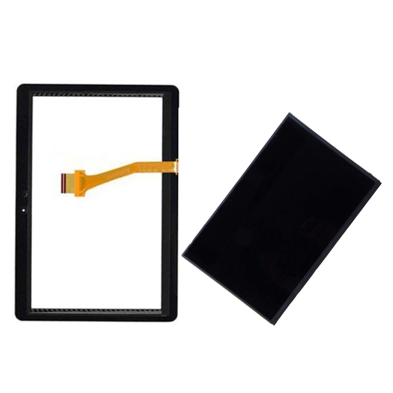Black/White For Samsung Galaxy Tab2 Tab 2 P5100 P5110 P5113 Touch Screen Digitizer Sensor Glass + LCD Display Panel Monitor