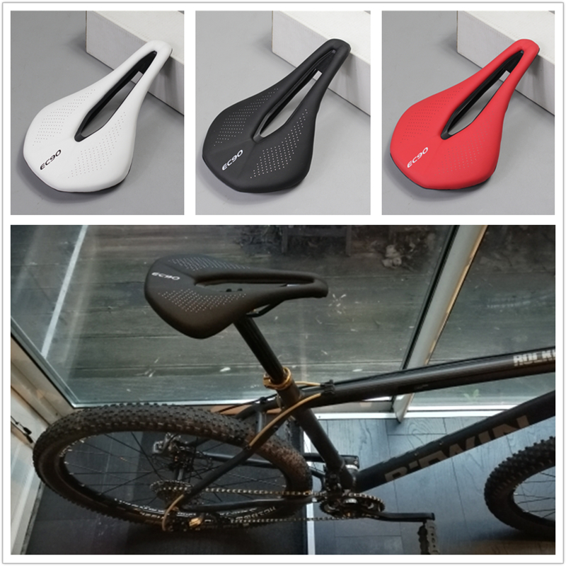 road Cycling Saddle Seating MTB Mountain Road Bicycle Bicycle Saddle Leather Pad Soft Seat Bike Parts Accessories road bike carbon fiber saddle mtb bicycle hollow breathable saddle cycling comfortable cushions mountain bike riding accessories