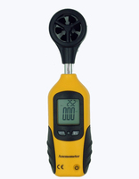HT 81 Pocket High Sensitive Digital LCD Display Hand Held Wind Speed Gauge Meter Measure Anemometer