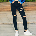 Jeans Woman Ripped Jeans For Women Hole Fahion Casual Skinny Jeans Femme Pantalones Vaqueros Mujer Women'S Pants