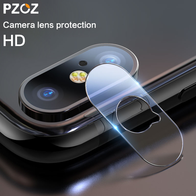 size 40 12fc2 4141b US $2.79 30% OFF|PZOZ For iphone Xs Max X Camera lens glass Back Mobile  phone accessories Scratches protective lens Tempered glass film cover-in  Phone ...