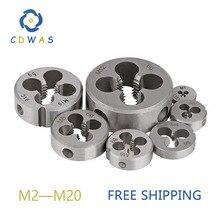 Die M2 M3 M4 M5 M6 M7 M8 M9 M10 M11 M12 M13 M14 M15 M16 M17 M18 M20 Метрическая правая рука Die Threading инструменты для обработки формы