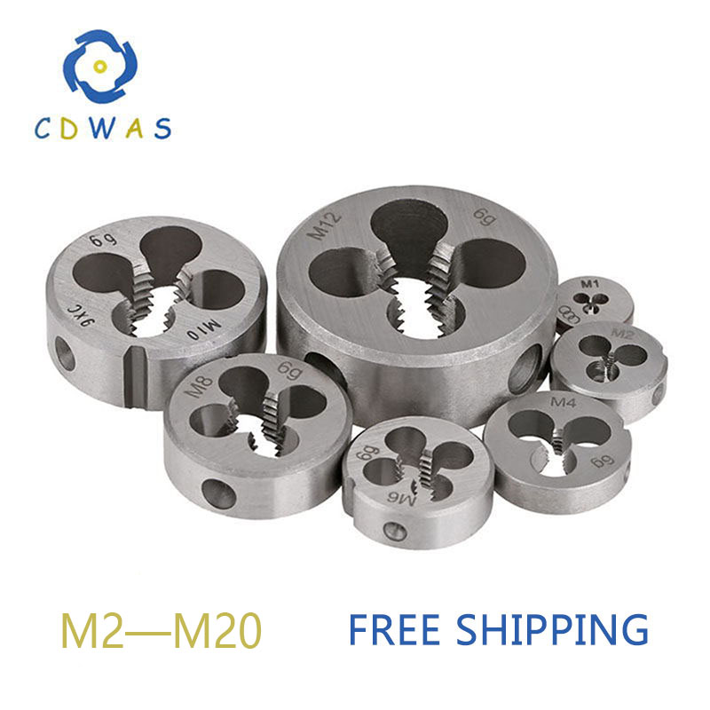 Die M2 M3 M4 M5 M6 M7 M8 M9 M10 M11 M12 M13 M14 M15 M16 M17 M18 M20 Metric Right Hand Die Threading Tools For Mold Machining