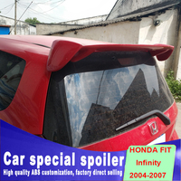 2004 to 2007 big rear window roof wings spoiler ABS primer Spray paint for honda fit spoiler by decorations spoilers