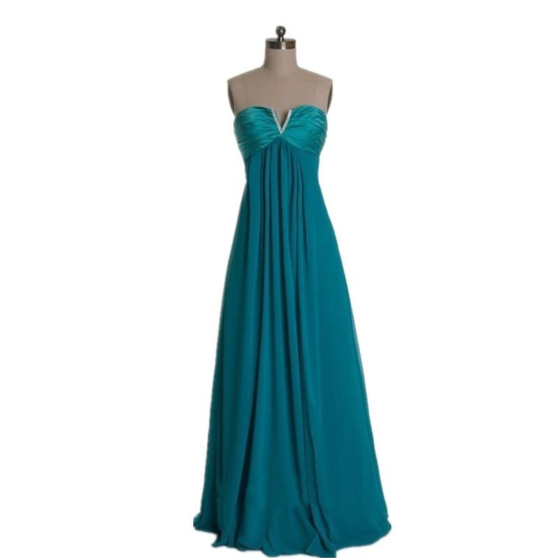 hot sale online f8e45 f6838 MDBRIDAL Chiffon Abiti Da Damigella D'onore di colore Verde ...