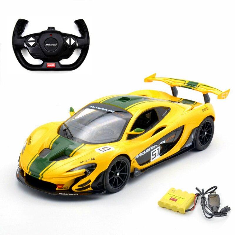 1:14 voiture télécommandée pour Mclaren P1 GTR Version de course Supercar sport de luxe voiture RC modèle adulte enfant jouet pour garçons enfant cadeau - 6