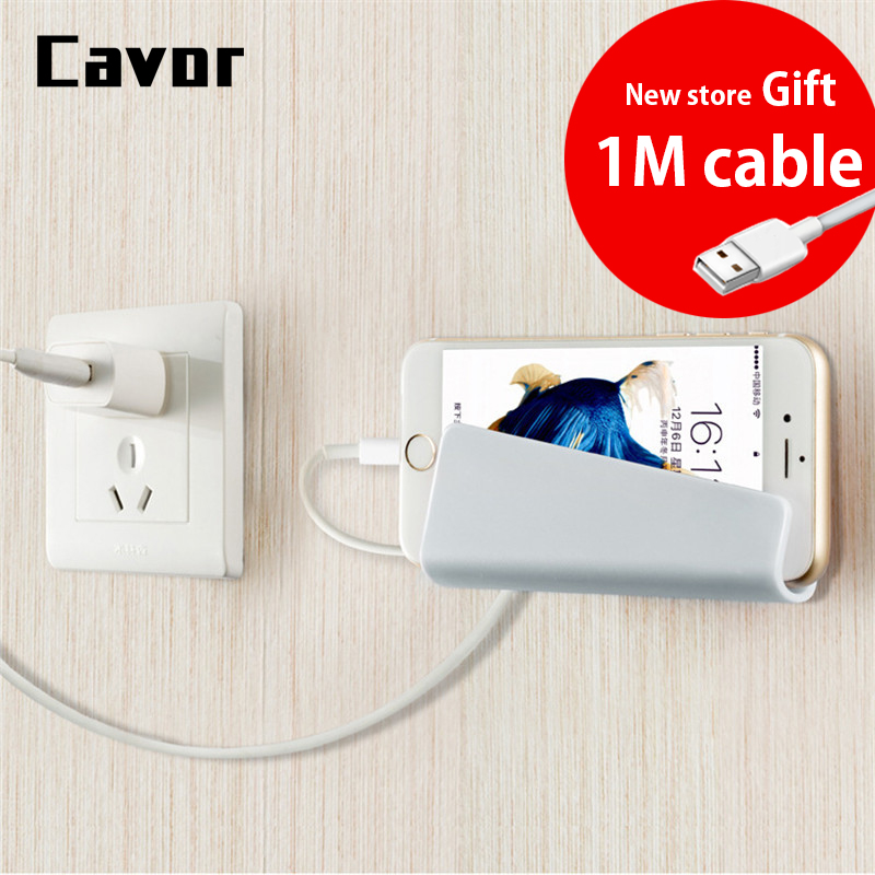Free Cable Universal Wall Charger Phone Holder For iPhone XS