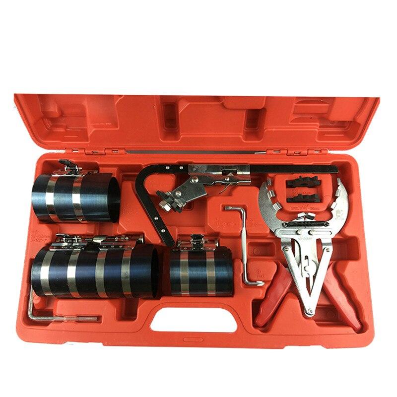 Mr Cartool 1 jeu de pinces à segments de Piston ensemble groupe de compresseur d'anneau de Piston Kit de WE-A1090 à outils à main automatique