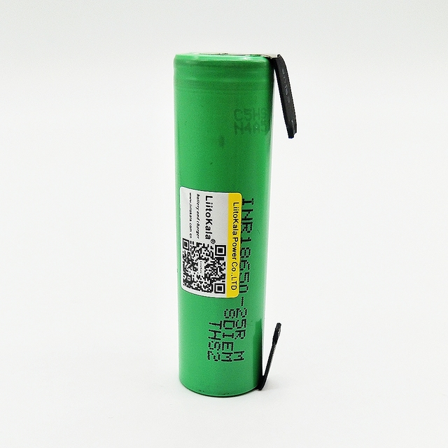 Rechargeable 18650 Battery with Strips