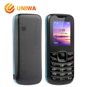 Uniwa Gmobile VC2500 Mobile Phone CDMA450MH Unlock Single SIM Card Feature Phone FM Radio MP3 Button Russian Keyboard Cellphone feature phone