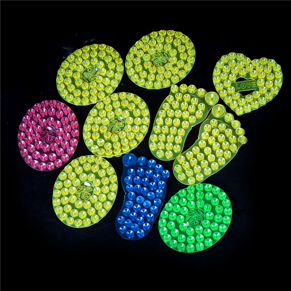 New 10pcs lot toy Strong Double Sided Suction Palm PVC Suction Cup Double Magic Plastic Sucker