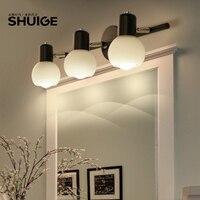 American minimalist Floor Lamps bathroom mirror lamp LED simple Modern Vanity Dresser bedroom cabinet lamp LU626 ZL151