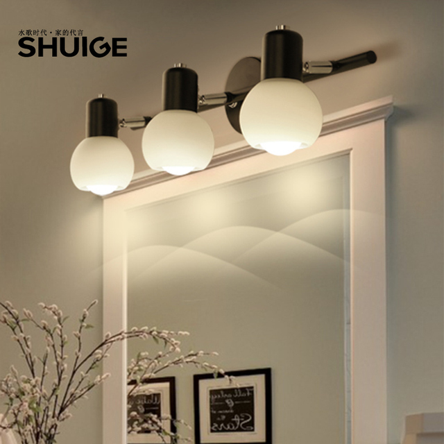 Amerikanischen minimalistische Stehlampe Lampen badezimmerspiegel ...