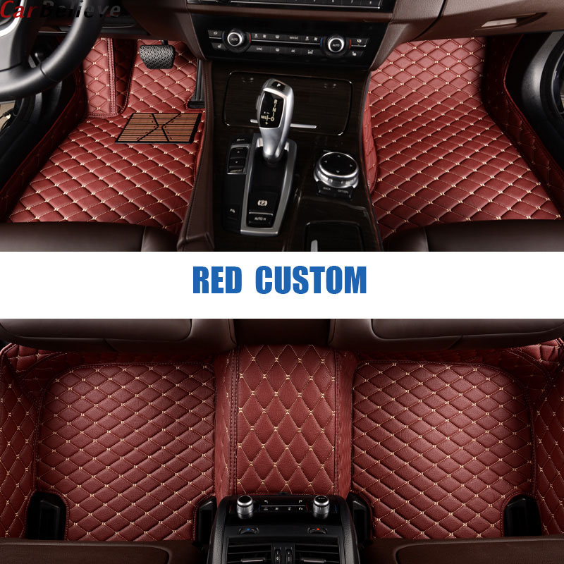 Car Believe car floor mats For mercedes w245 w212 w169 w163 w164 gl e class w211 cla gla  car accessories carpet rugs(China)