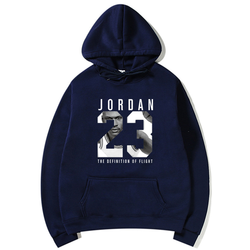 Autumn New Arrival High JORDAN 23 Printed Sportswear Suprem Men Sweatshirt Hip-Hop Male Hooded Hoodies Pullover Hoody Clothing
