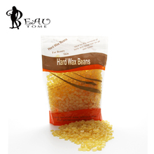Beautome 310g Honey Flavor Wax Beans Free Paper Heater Hard Wax Pearl Non Strips For Hair Removal Unisex For Salon Personal Use