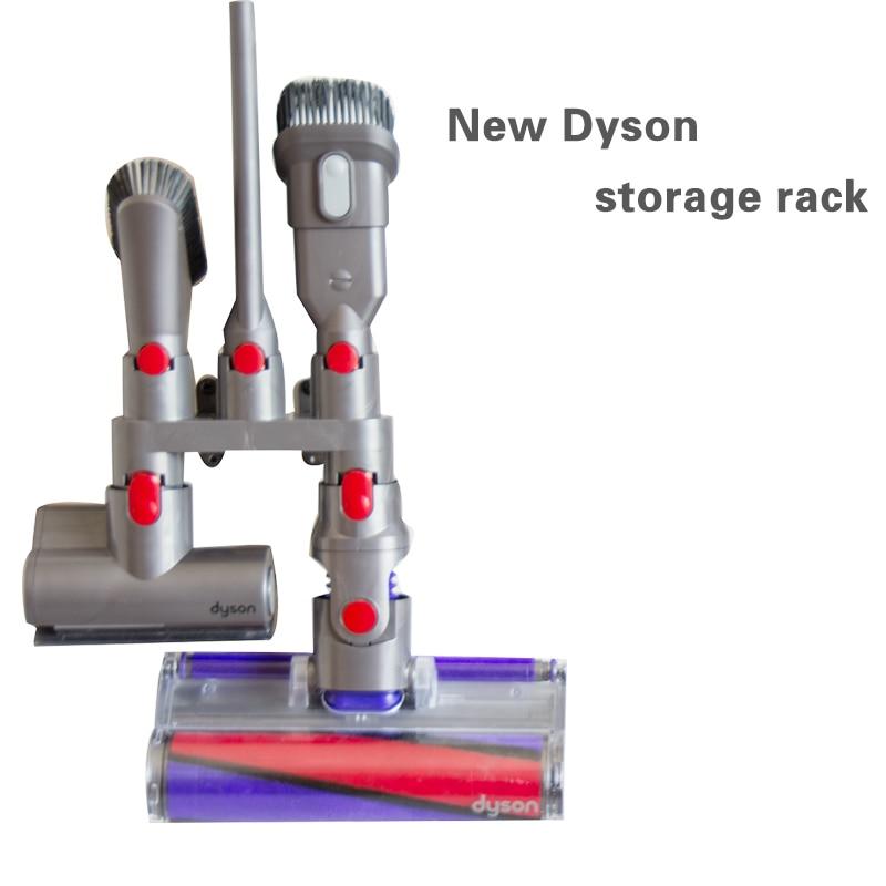 accessories storage equipment shelf for dyson v7 v8 v10 absolute brush tool nozzle base bracket. Black Bedroom Furniture Sets. Home Design Ideas
