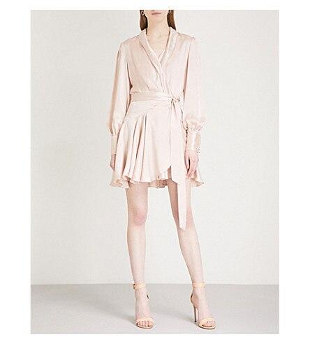 spring/summer fashion v-neck one-pice mini dress beautiful women