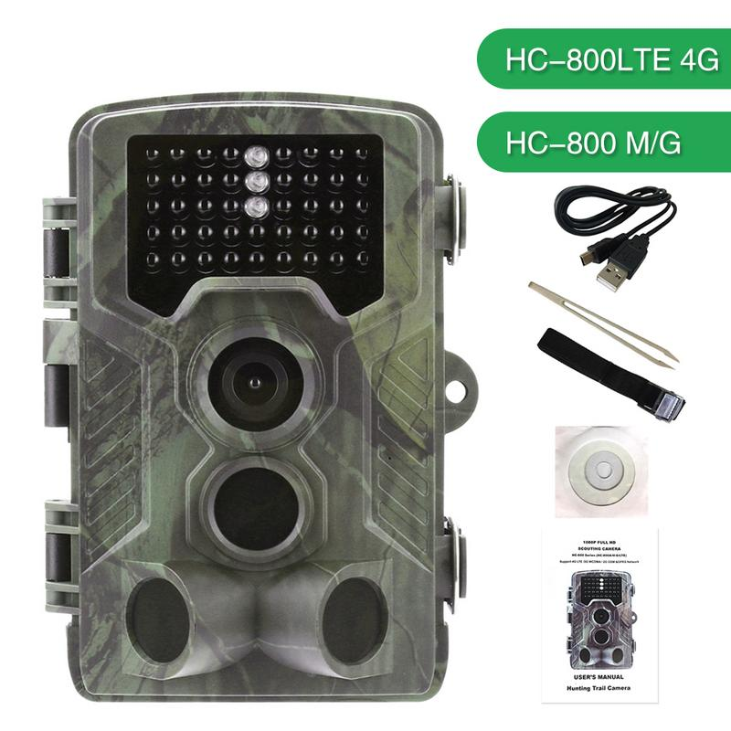 HC-800LTE 4G HC-800M/G 16MP 2G 3G Hunting Trail Camera MMS SMTP GPRS HD 1080P Video IR WCDMA CDMA Night Vision Outdoor Camera free shipping new pd100f12ac module