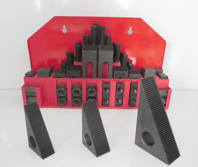 M10 Metric Clamping Kit For Milling Machine,Supplied Full 58pc цена и фото