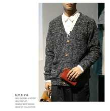2015 Autumn and winter casual sweater cardigan male slim men's o-neck sweater outerwear N891
