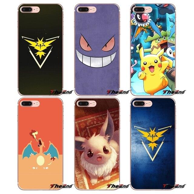 Для samsung Galaxy S9 плюс Примечание 8 One Plus oneplus 5 T Meizu M5s LG V30 htc U11 Pokemons синий руководство иви Pokeballs ТПУ чехол