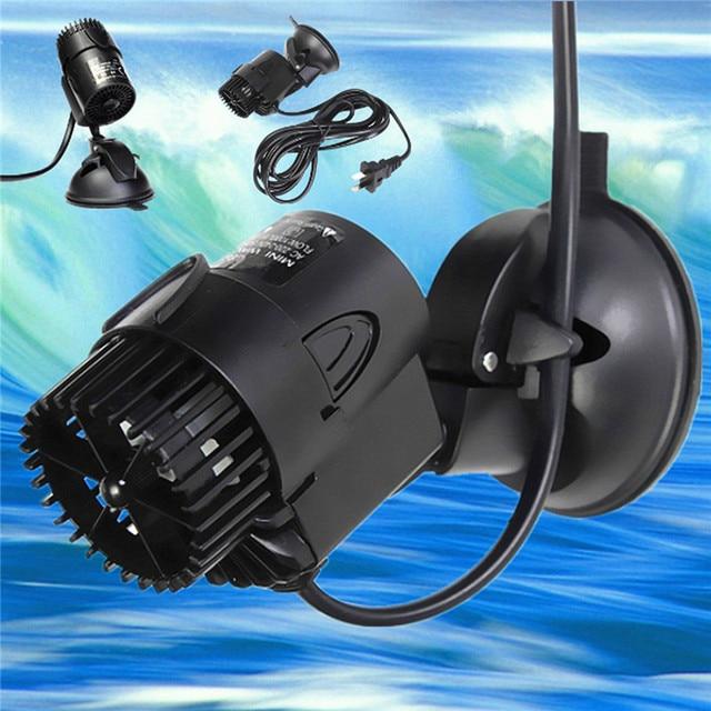 3W Aquarium Wave Maker Pump For Nano Coral Reef Marine Fish Tank Water Circulation Submersible Pump 3000L/H 220V-240V