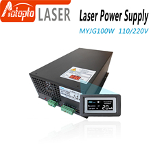 80-100W CO2 Laser Power Supply for CO2 Laser Engraving Cutting Machine MYJG-100W category цены онлайн