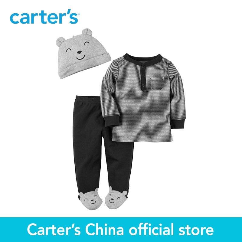 Carter s 3pcs baby children kids 3 Piece Babysoft Footed Pant Set 126G303 sold by Carter