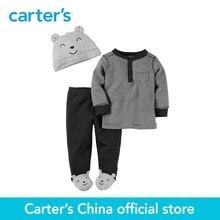 Carter de 3 pcs bébé enfants enfants 3-pièces Babysoft Pantalon À Pattes Ensemble 126G303, vendu par Carter de Chine officielles magasin