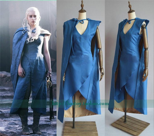 2016 film di game of thrones daenerys targaryen cosplay. Black Bedroom Furniture Sets. Home Design Ideas
