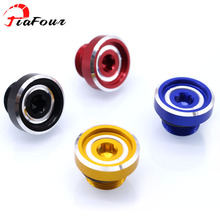 For SUZUKI GSR600 GSR750 BKING GSR 600 GSR 750 B-KING GSX-S1000Z SV1000S GSX-R 600 750 1000 Oil Filler Cover Screw Plug Cap Bolt for suzuki gsr 750 2001 2005 steering damper stabilizer bracket gsr750 01 2002 2003 2004 05 gsxr gsx r gsx r 600 750 gold