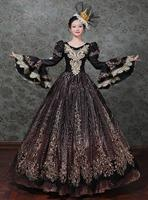French Court Dress Rococo dress Baroque prom Medieval