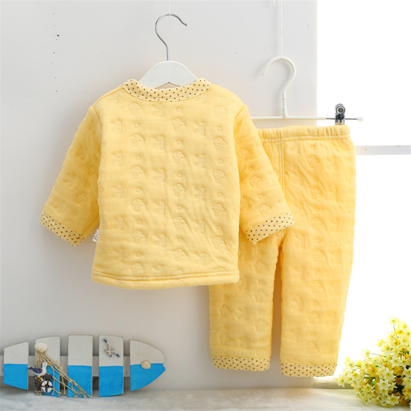 3c357c67a2e8 Hrizip Cotton Winter Suit Baby Girl Clothing Set Animal Lovely Suit Warm  Tops Pants Infant Newborn Baby Boy Winter Clothes Sets-in Clothing Sets  from Mother ...