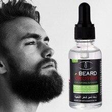 Men Beard Growth Enhancer Oil 100% Natural Organic Beard Wax Balm Produ