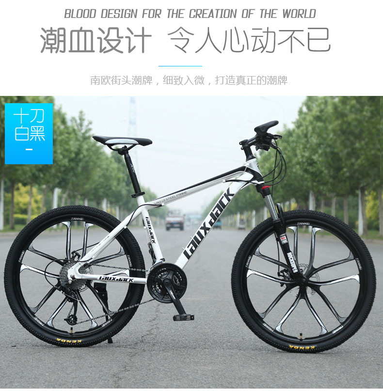 24 Inch 21 Speed Adult Bicycle Speed Mountain Biking Light Road Racing Bike Youth Shocking Bicycle Male And Female Students