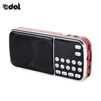 fm tf Portable Digital Stereo FM Mini Radio Speaker Music Player with TF Card USB AUX Input Sound Box Blue Black Red (2)